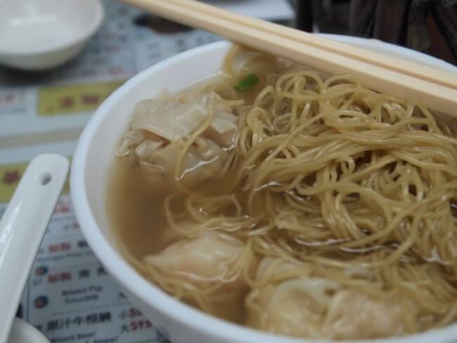 「永華雲呑麺家」- 香港に来たら一度は必ずワンタン麺を食べよう