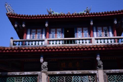 台南第一の名所「赤崁楼」