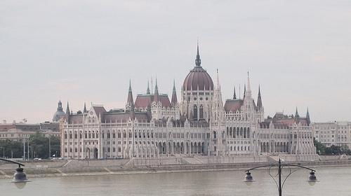 美しすぎるハンガリーの国会議事堂 その1.