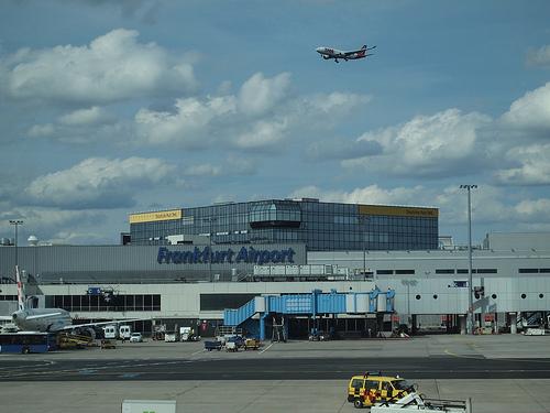 フランクフルト空港のLHルフトハンザセネターラウンジ